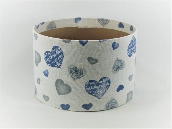 FLOWER BOX  20/13  - dekor BLUE HEARTS
