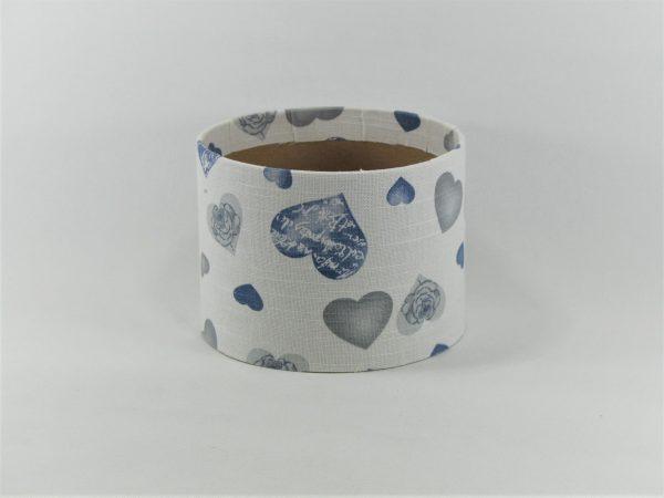 FLOWER BOX MINI 13/10 D - dekor BLUE HEARTS