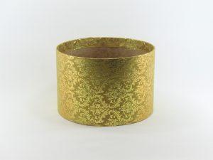 FLOWER BOX  20/13  - dekor METAL ORNAMENT GOLD/GOLD