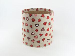 FLOWER BOX  20/20  - dekor VALENTIN´S HEART